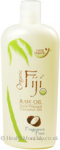 Organic Fiji Fragrance Free Organic Cold Pressed Coconut Oil