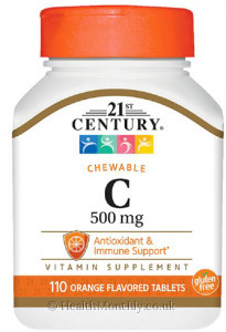 21st Century Chewable Vitamin C