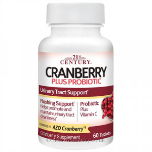 21st Century Cranberry Plus Probiotic