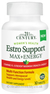 21st Century Estro Support Max+Energy