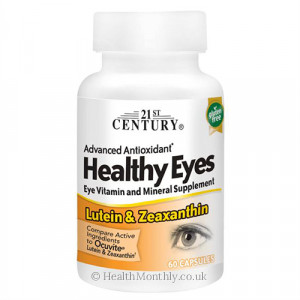 21st Century Healthy Eyes Lutein and Zeaxanthin