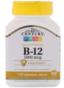 21st Century High Potency B-12