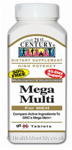 21st Century Mega Multi for Men