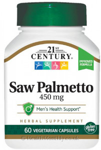 21st Century Saw Palmetto Extract