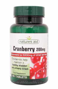 Natures Aid Cranberry
