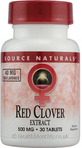 Source Naturals Red Clover Extract Eternal Woman