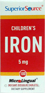 Superior Source Children's Iron