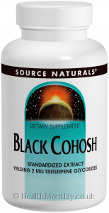 Source Naturals Black Cohosh Standardised Extract