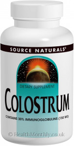 Source Naturals Colostrum Powder