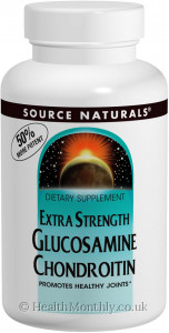Source Naturals Extra Strength Glucosamine Chondroitin