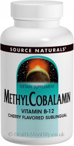 Source Naturals MethylCobalamin Vitamin B-12