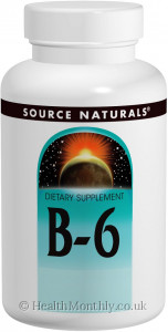 Source Naturals Vitamin B-6 Pyridoxine