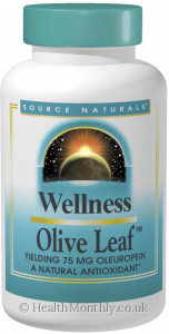 Source Naturals Wellness Olive Leaf
