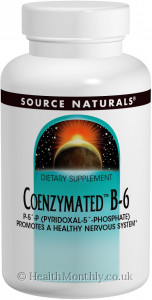 Source Naturals Coenzymated B-6