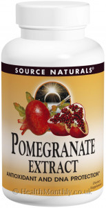 Source Naturals Pomegranate Extract 500 mg