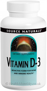 Source Naturals Vitamin D-3 Fast Melt