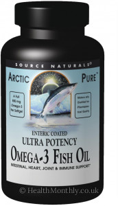 Source Naturals ArcticPure Ultra-Potency Omega-3 Fish Oil