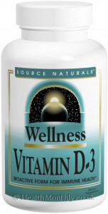 Source Naturals Wellness Vitamin D-3