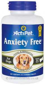 ActiPet Anxiety Free For Dogs
