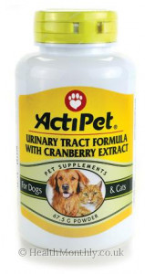ActiPet Urinary Tract Formula For Dogs and Cats