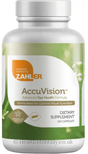 Advanced Nutrition By Zahler AccuVision
