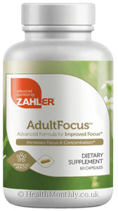 Advanced Nutrition by Zahler Adult Focus