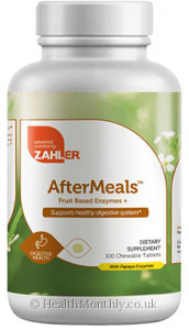 Advanced Nutrition By Zahler After Meals
