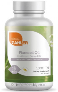 Advanced Nutrition By Zahler Flaxseed Oil