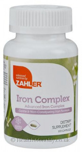 Advanced Nutrition By Zahler Iron Complex
