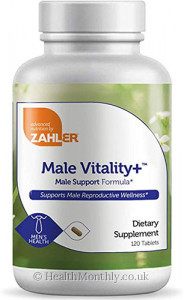 Advanced Nutrition By Zahler Male Vitality+