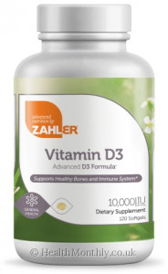 Advanced Nutrition By Zahler Vitamin D3