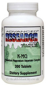 Advanced Research K-MG Potassium Magnesium Aspartate Complex