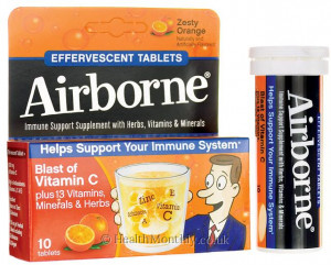 Airborne Effervescent Blast of Vitamin C