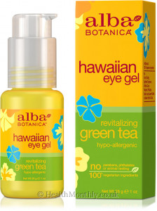 Alba Botanica Hawaiian Eye Gel, Revitalizing Green Tea