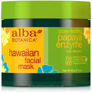 Alba Botanica Hawaiian Facial Mask, Pore-fecting Papaya Enzyme