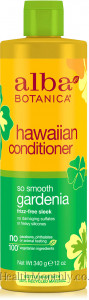 Alba Botanica Hawaiian Hair Conditioner, So Smooth Gardenia