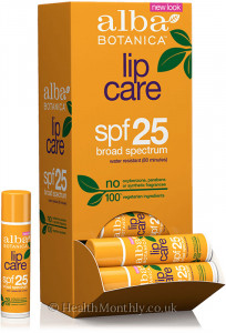 Alba Botanica Lip Care SPF25 Broad Spectrum