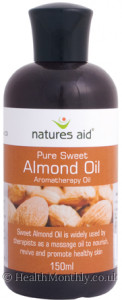Natures Aid Pure Sweet Almond Oil