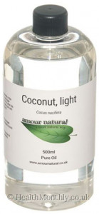 Amour Natural Coconut Light Pure Oil