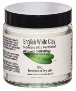 Amour Natural English White Clay