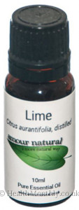 Amour Natural Lime Pure Essential Oil