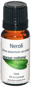 Amour Natural Neroli Essential Oil