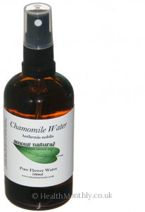 Amour Natural Roman Chamomile Flower Water