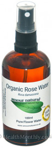 Amour Natural Rose Flower Water