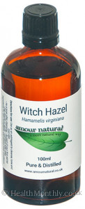Amour Natural Witch Hazel Pure and Distilled