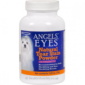 Angels' Eyes Natural Tear Stain Powder for Dog