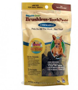 Ark Breath-Less Brushless-Toothpaste Chewable