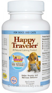 Ark Naturals Happy Traveler All Natural Calming For Dogs & Cats