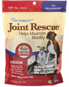 Ark Naturals Sea Mobility Joint Rescue Soft Chew Squares