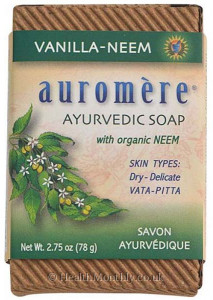 Auromere Ayurvedic Bar Soap